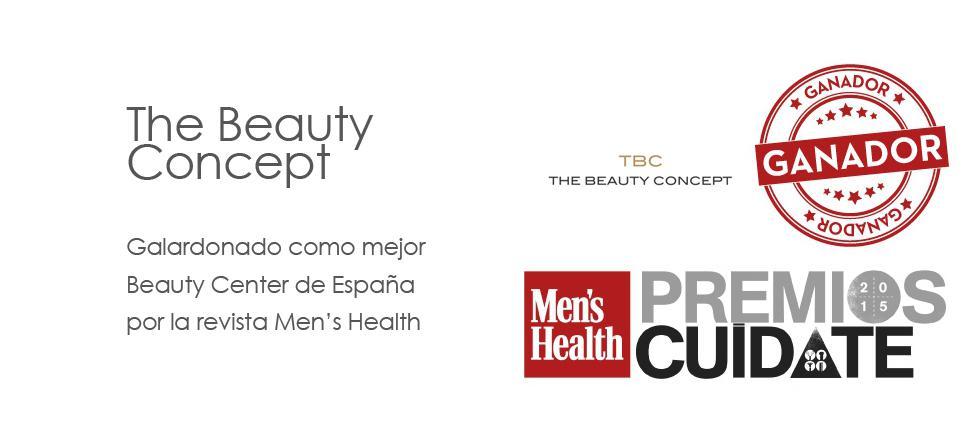 Cartel The Beauty Concept premios cuídate