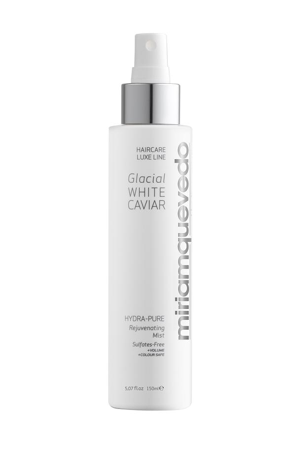 MIRIAM QUEVEDO GLACIAL WHITE CAVIAR Hydra-Pure Rejuvenating Mist 150ML