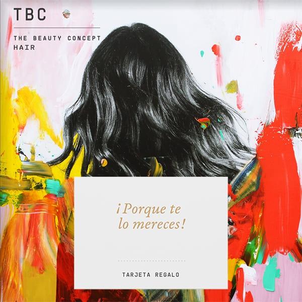Tarjeta Regalo TBC Hair - The Besauty Concept