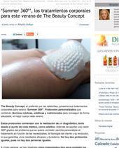 'Summer 360º', los tratamientos corporales para este verano de The Beauty Concept
