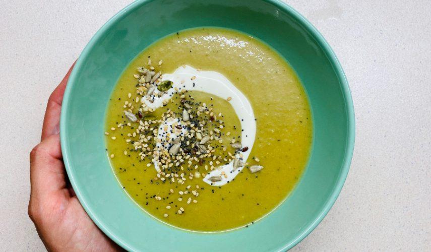 Receta diurética: Crema de verduras con jengibre